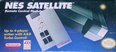 NES Satellite Cover Art