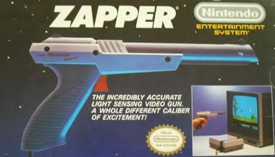 NES Zapper [Grey] Cover Art