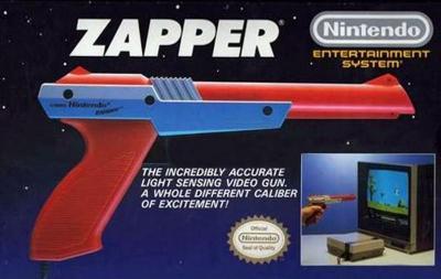 NES Zapper [Orange] Cover Art