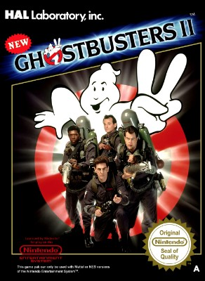 New Ghostbusters II [PAL] Cover Art