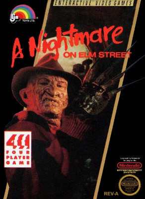 A Nightmare on Elm Street Cover Art