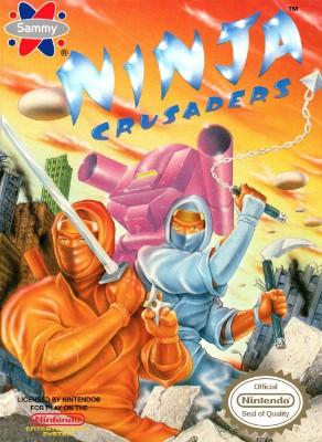 Ninja Crusaders Cover Art