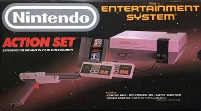 Nintendo Entertainment System [Action Set] Cover Art