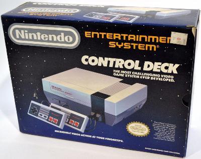 Nintendo Entertainment System [Control Deck] Cover Art