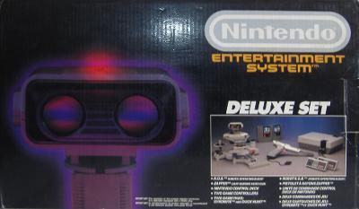 Nintendo Entertainment System [Deluxe] Cover Art