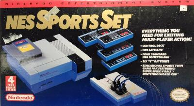 Nintendo Entertainment System [Sports Set] Cover Art