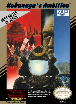 Nobunaga's Ambition Cover Art