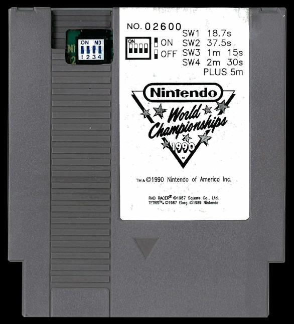 Nintendo World Championships [Grey] Cover Art