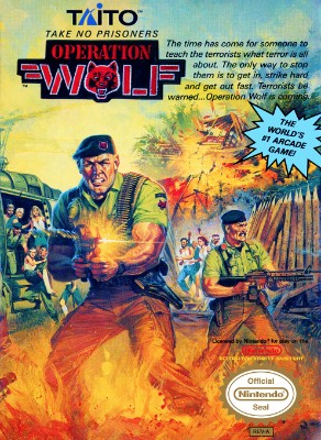 Operation Wolf Cover Art