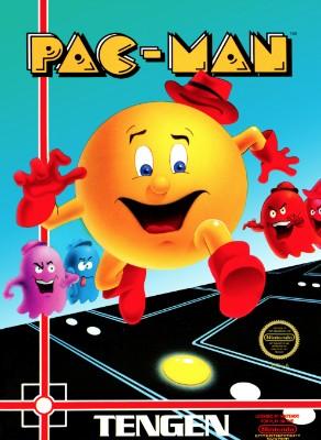 Pac-Man [Tengen] Cover Art
