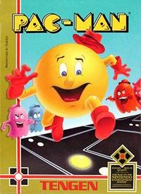 Pac-Man [Tengen Unlicensed] Cover Art