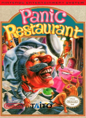 Panic Restaurant Cover Art