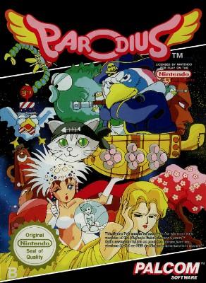 Parodius [PAL] Cover Art