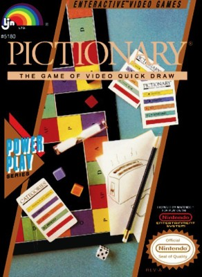 Pictionary Cover Art