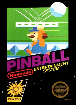 Pinball Cover Art