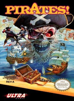Pirates! Cover Art