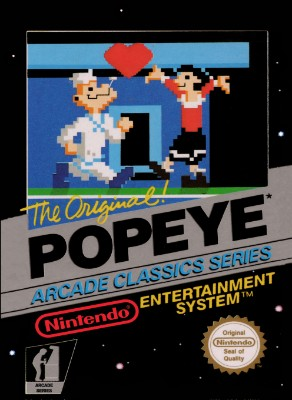 Popeye Cover Art