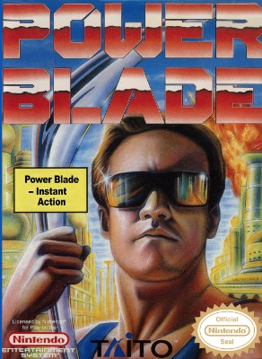 Power Blade Cover Art