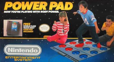 Power Pad Cover Art