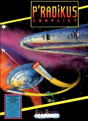 P'radikus Conflict [Blue] Cover Art
