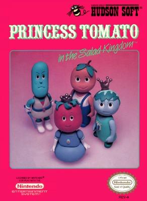 Princess Tomato in the Salad Kingdom Cover Art