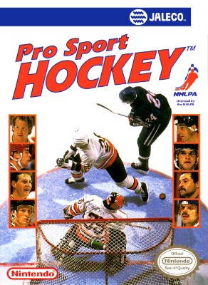 Pro Sport Hockey Cover Art