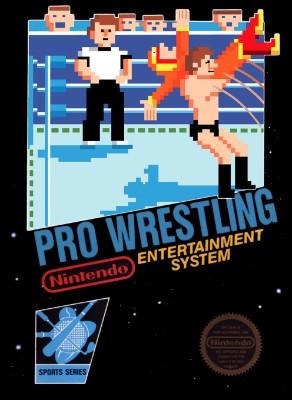 Pro Wrestling Cover Art