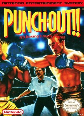 Punch-Out!! Cover Art