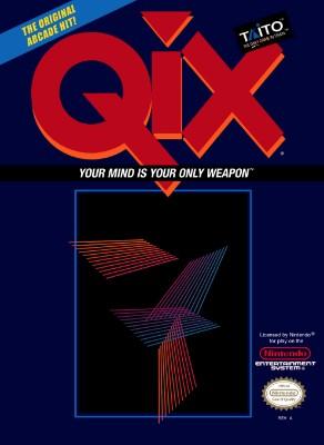 Qix Cover Art