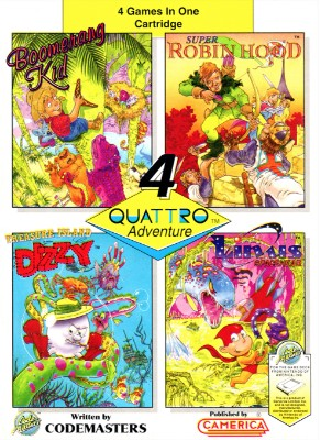 Quattro Adventure Cover Art