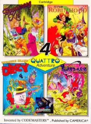 Quattro Adventure [Aladdin Deck Enhancer] Cover Art