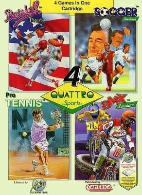 Quattro Sports Cover Art