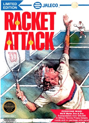 Racket Attack Cover Art