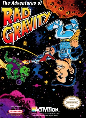 Adventures of Rad Gravity Cover Art