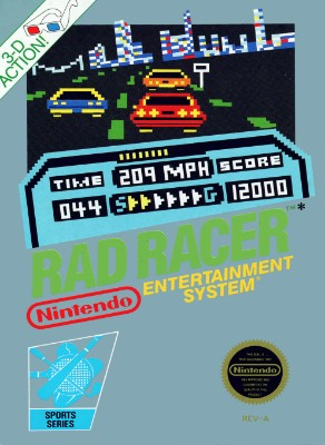 Rad Racer Cover Art