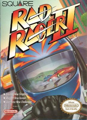 Rad Racer II Cover Art