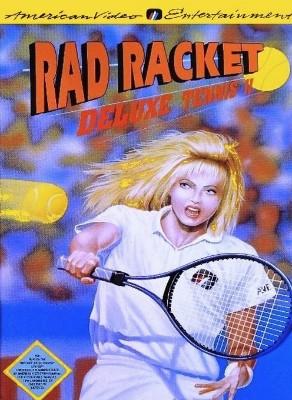 Rad Racket: Deluxe Tennis II Cover Art