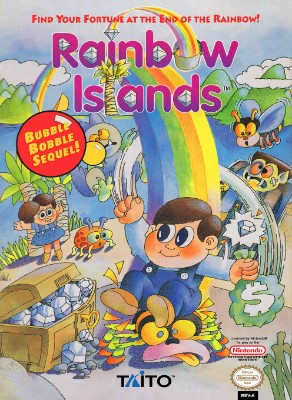 Rainbow Islands Cover Art