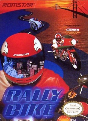 Rally Bike Cover Art
