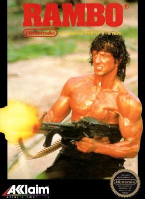 Rambo Cover Art