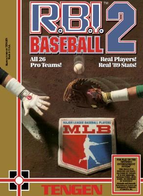 R.B.I. Baseball 2 Cover Art