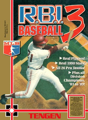 R.B.I. Baseball 3 Cover Art