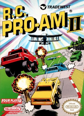 R.C. Pro-Am II Cover Art