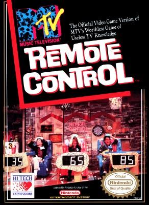 Remote Control Cover Art