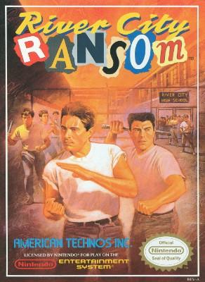River City Ransom Cover Art