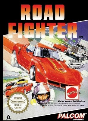 Road Fighter [PAL] Cover Art