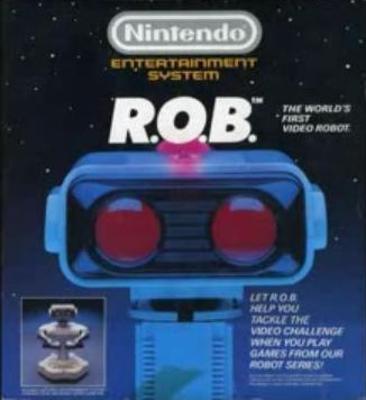 R.O.B. [Robotic Operating Buddy] Cover Art