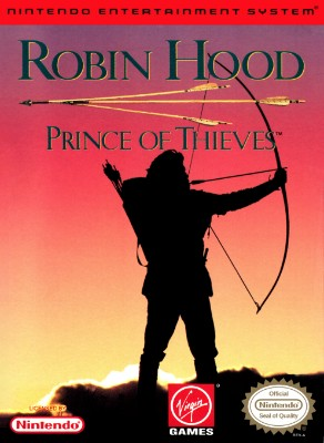 Robin Hood: Prince of Thieves Cover Art