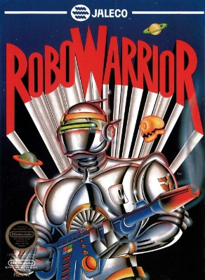 Robo Warrior Cover Art