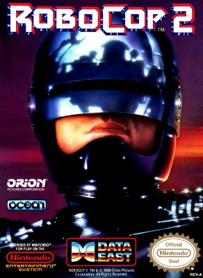 RoboCop 2 Cover Art